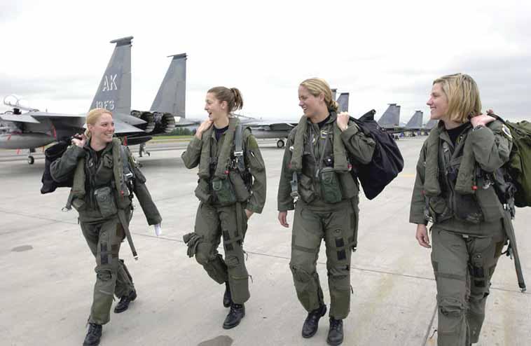19/2006: Women F-15 pilots - The Cellar