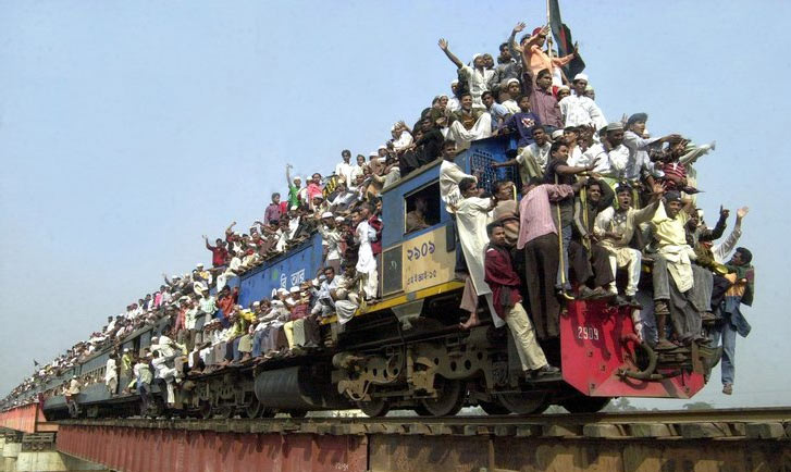 Image result for third world train