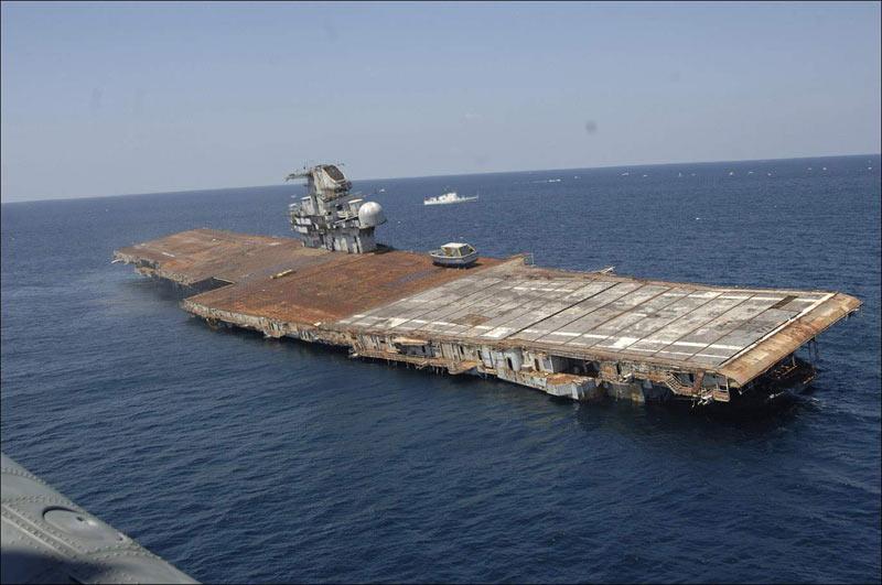 6/8/2006: Sinking of the USS Oriskany - The Cellar