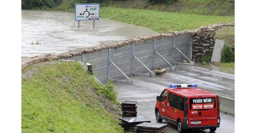 They call them portable flood walls but thatu0027s misleading temporary is more accurate but the base structure is permanent part of & July 5th 2018: Dam Austria - The Cellar
