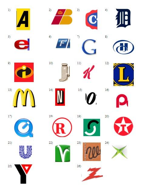 alphabet logo quiz the cellar