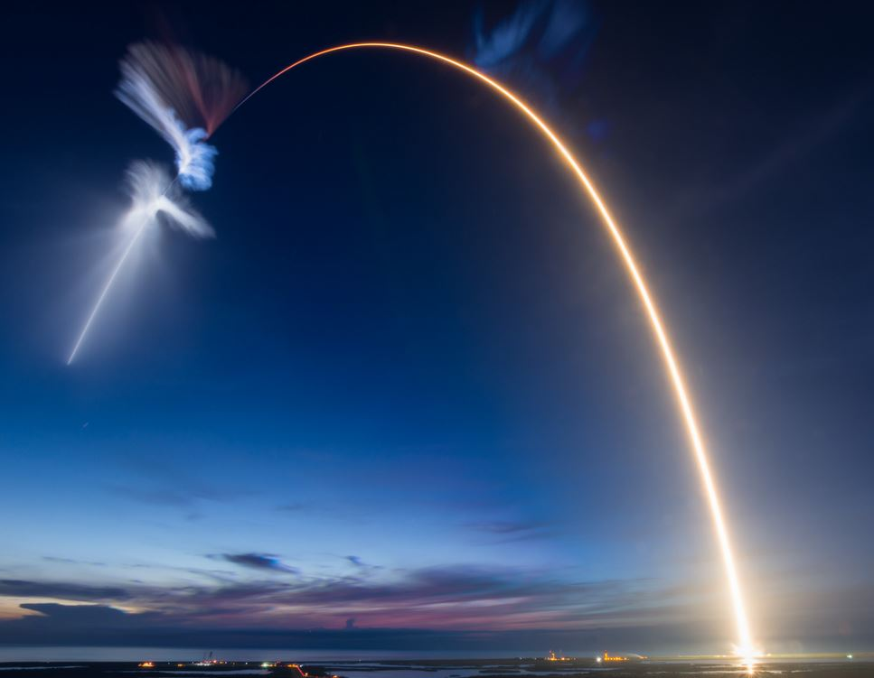 Name:  SpaceX Falcon 9 rocket on June 29 2018.JPG