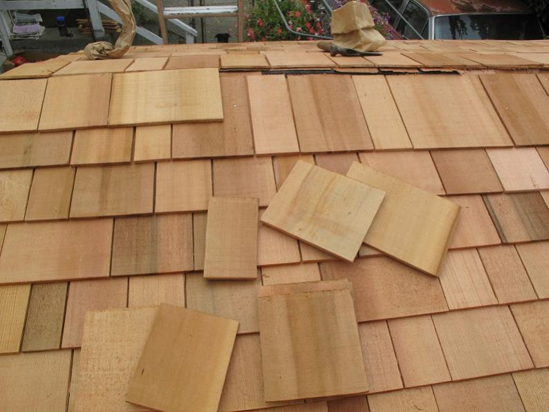 instructions for laying cedar shingles